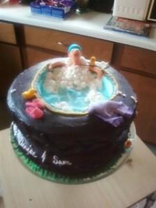 Bubble Bath Cake