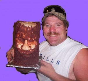 Ed tree spirit cake