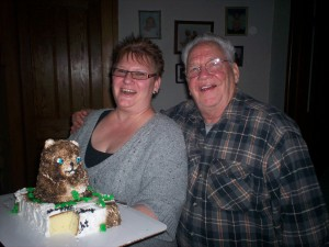 Groundhog Cake 2