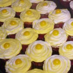 Lemon mini cupcakes