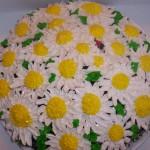daisy cake with ladybug 3