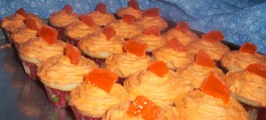 orange creamsicle mini cupcakes