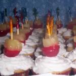 pina colada mini cupcakes