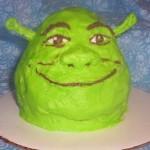 shrek cupcake 1