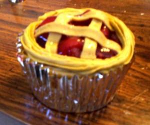single cherry cupcake 10