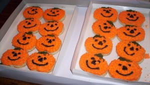 pumpkin cookies 10
